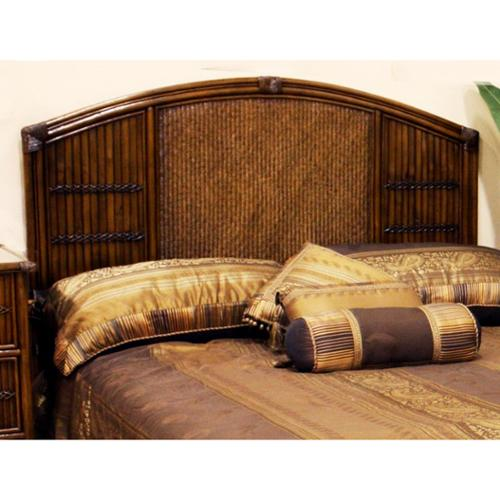 Polynesian Twin Headboard in Antique Finish (King)