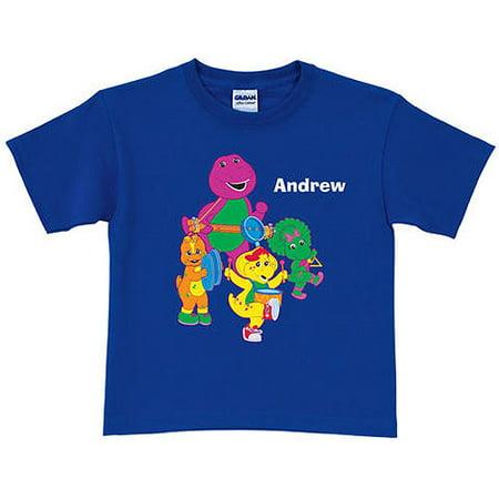 05b20e224e Personalized Barney & Friends Band Toddler Boy T-Shirt