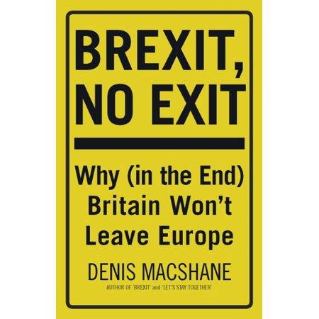 Brexit  No Exit