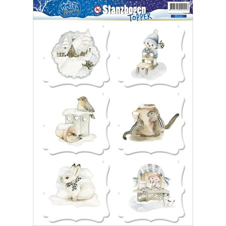 Find It Precious Marieke Winter Wonderland Topper Sheet-](Winter Wonderland Sweet 16 Ideas)