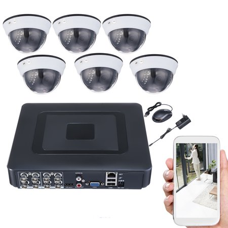 - 8CH CCTV DVR 720P AHD 8*1080N Camera H.264 Home Security securitysystem System Day-Night Vision