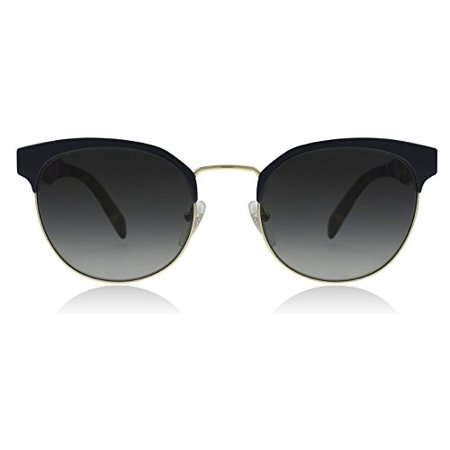 Prada PR61TS VH85W1 Blue/Pale Gold PR61TS Round Sunglasses Polarised Lens (Polarised Glass Meaning)