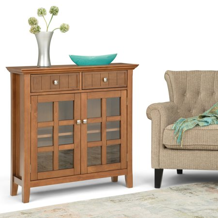 WyndenHall  Normandy Solid Wood 36 inch Wide Rustic Entryway Hallway Storage Cabinet - 36 Inches wide ()