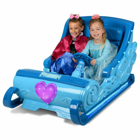 Disney Frozen Sleigh 12 Volt Battery Powered Ride On For