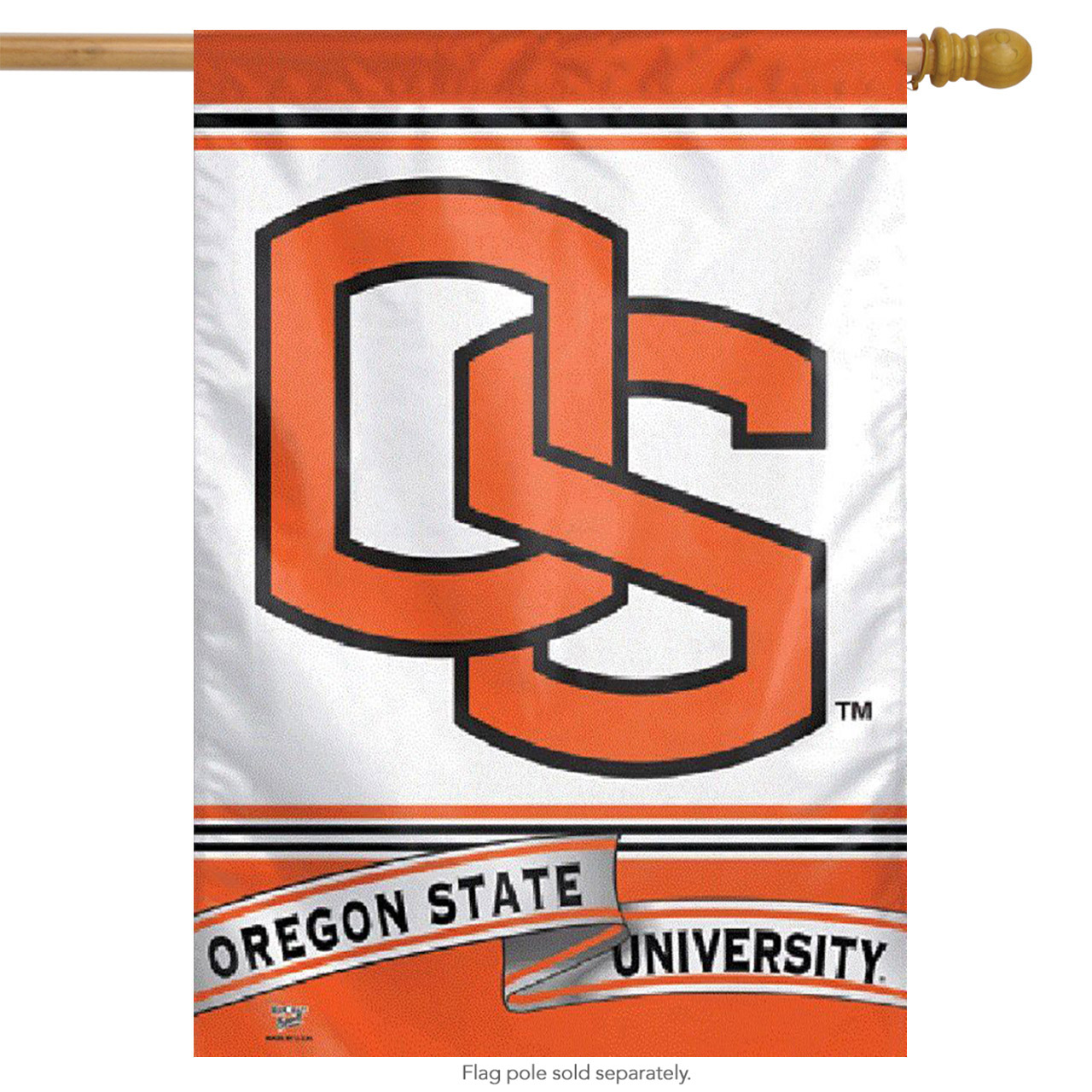 Oregon State Beavers Vertical Flag NCAA