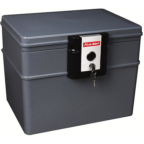 First Alert 2037F 0.62 Cubic Foot Water and Fire Protector File Chest