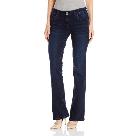kut from the kloth women's natalie high rise bootcut jean, winsome,