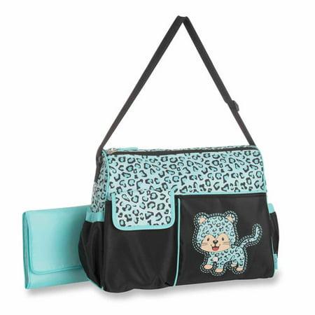 baby boom duffle diaper bag cheetah. Black Bedroom Furniture Sets. Home Design Ideas