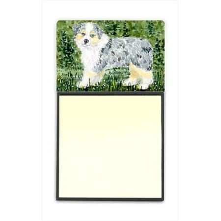 Australian Shepherd Refiillable Sticky Note Holder or Postit Note Dispenser - image 1 de 1