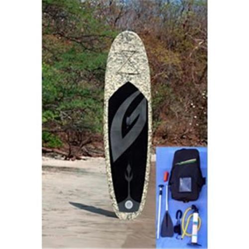 Stone River Gear GU10. 6CAMO Stone River Gladiator Camo Style Inflatable Standup Paddle Board