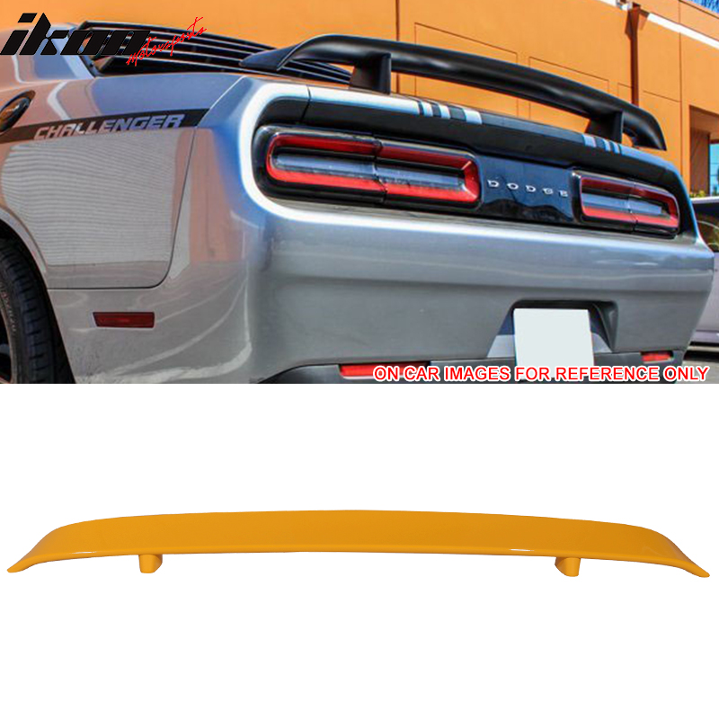 Fits 08-14 Dodge Challenger OE Style Rear Trunk Spoiler ABS Deck Lid