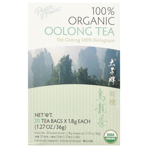Organic Oolong Tea Prince Of Peace 20 Bag