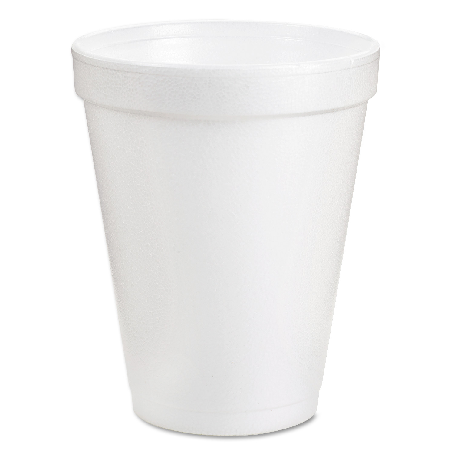Dart Foam Drink Cups, 6oz, White, 25/Bag, 40 Bags/Carton