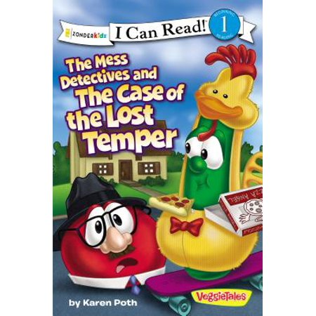 I Can Read! / Big Idea Books / VeggieTales: The Mess Detectives and the Case of the Lost Temper (Paperback) - Reading Detective