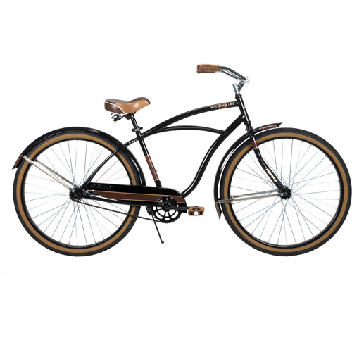 """29"""" Huffy Millennial Men's Cruiser Bike, Black"""