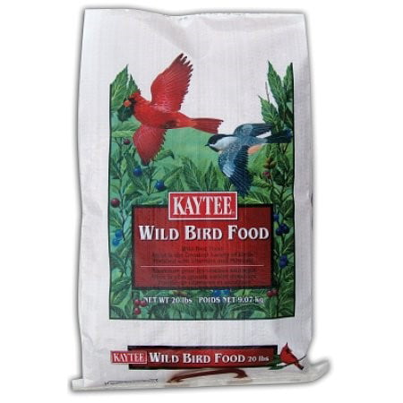 Kaytee Basic Blend Wild Bird Food, 20-lb bag