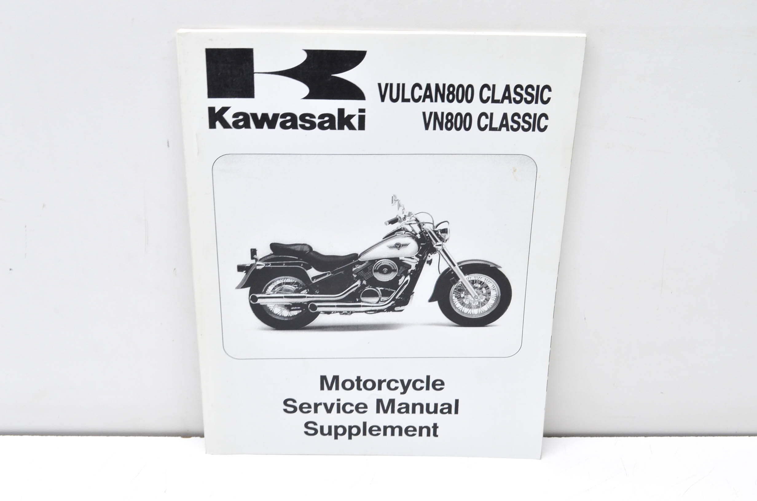 Kawasaki 99924 1199 56 1996 2002 Vulcan Vn 800 Classic Service Vespa Scooter Wiring Schematic Manual Supplement Qty 1