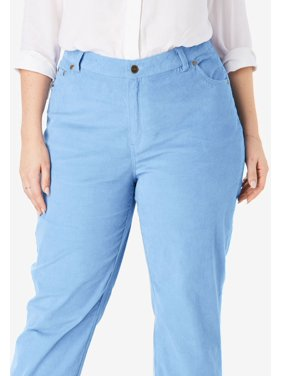 1dc8977e693f8 Product Image Woman Within Plus Size Corduroy Straight Leg Stretch Pant