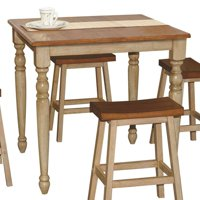 Winners Only Quails Run 5 Piece Counter Height Dining Table Set