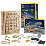 National Geographic DIY Solar-Powered Moon Buggy Car, STEM Toy
