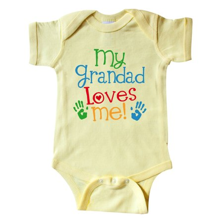 My Grandad Loves Me Outfit Infant Creeper for $<!---->
