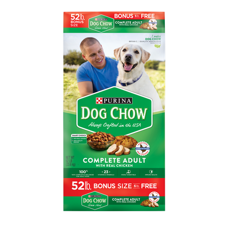 Purina Dog Chow Complete Adult Bonus Size Dry Dog Food, 52
