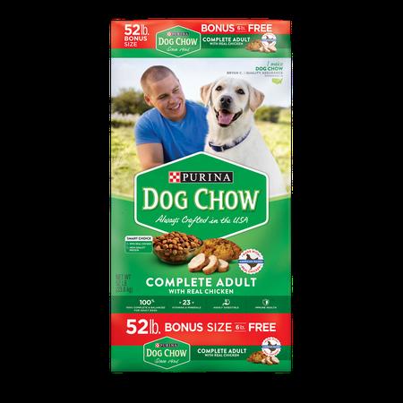Purina Dog Chow Complete Adult Bonus Size Dry Dog Food, 52 Lb.
