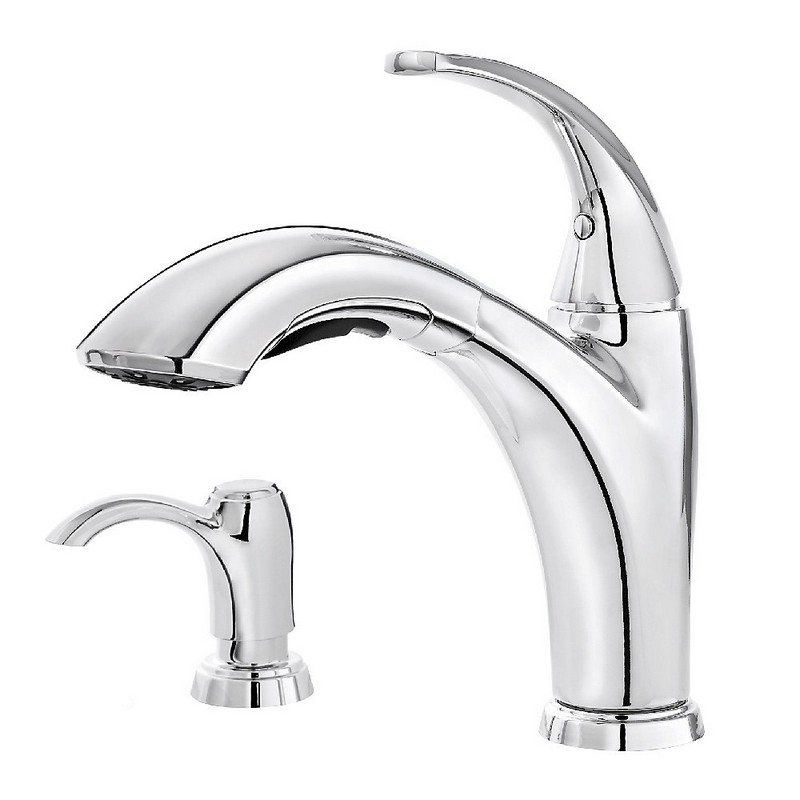 Exceptional Pfister Selia Kitchen Faucet F 534 PSLC Polished Chrome