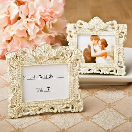 Vintage Style Baroque Design Placecard Holder or Picture Frame by, Vintage Baroque design placecard holders or picture frames By Fashioncraft ()