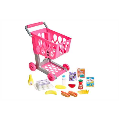 Honestly Cute Shop & Go Grocery Cart