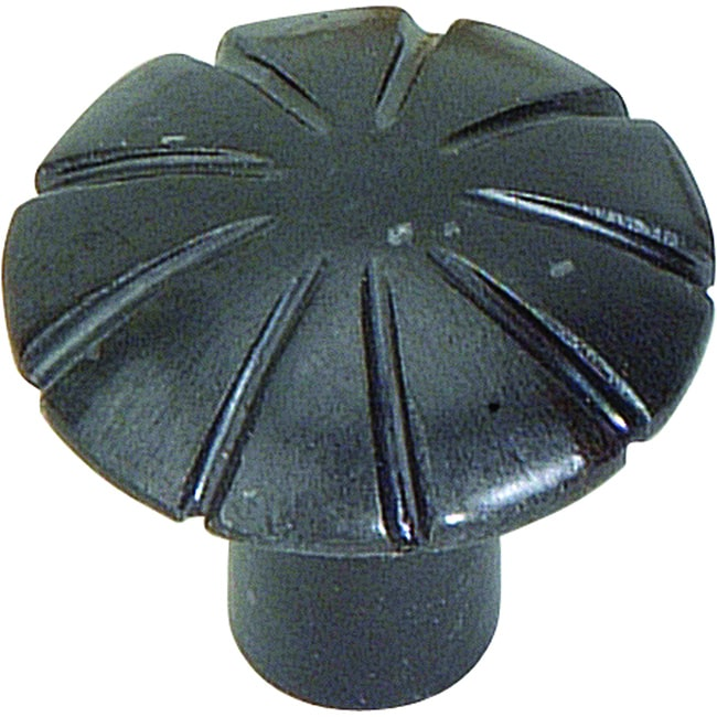 Atlas Homewares Fluted Collection Iron 1.5-inch Cabinet Knobs (Pack of 12)