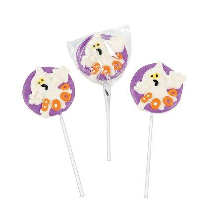 Fun Express - Boo Suckers for Halloween - Edibles - Sucker & Pop - Character Suckers - Halloween - 12 Pieces](Oreo Truffle Pops Halloween)