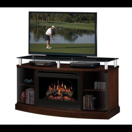 Dimplex Tv Stand With Electric Fireplace Walmart Com