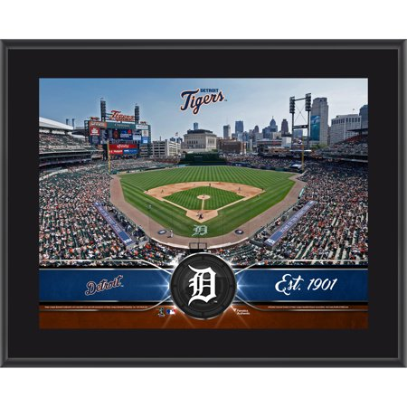 """Detroit Tigers Fanatics Authentic 10.5"""" x 13"""" Sublimated Team Plaque - No Size"""