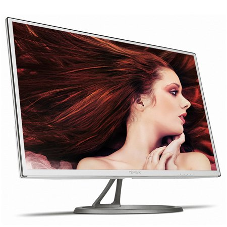 New NEWSYNC (B2775QHD IPS GRACE White) B2775QHD IPS Grace White 27 inch LED 2560x1440 QHD AH-IPS (Flicker-Free, Low Blue Light, 50,000:1 DCR, 350 cd/m² Brightness) DisplayPort HDMI Gaming Monitor