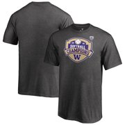 Washington Huskies Fanatics Branded Youth 2019 PAC-12 Softball Conference Champions T-Shirt - Heather Gray
