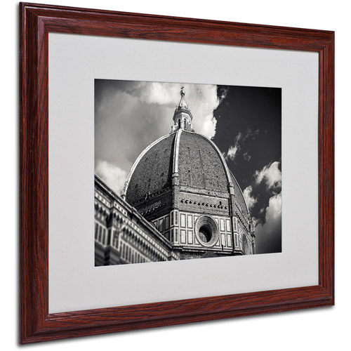 """Trademark Fine Art """"The Big Dome"""" by Giuseppe Torre, Wood Frame"""