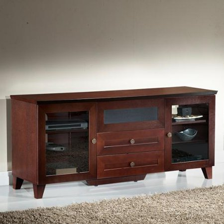 Furnitech Shaker Dark Cherry TV and Entertainment Console