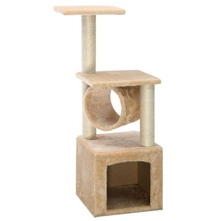 Cat Tree 36 Level Condo Furniture Scratching Post Pet House Scratcher Beige