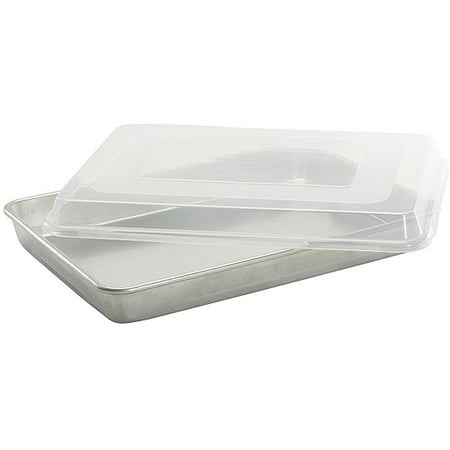 Nordicware Hi Sided Sheet Cake Baking Pan With Lid