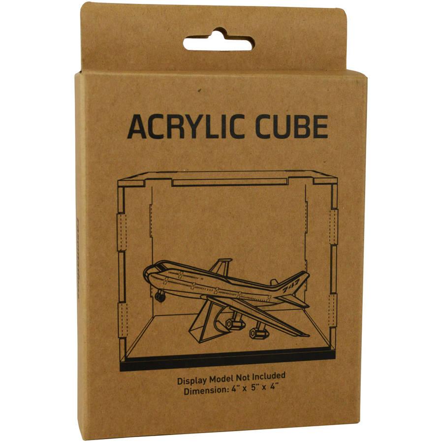 """Metal Earth Acrylic Display Cube, 4"""" x 5"""" x 4"""""""