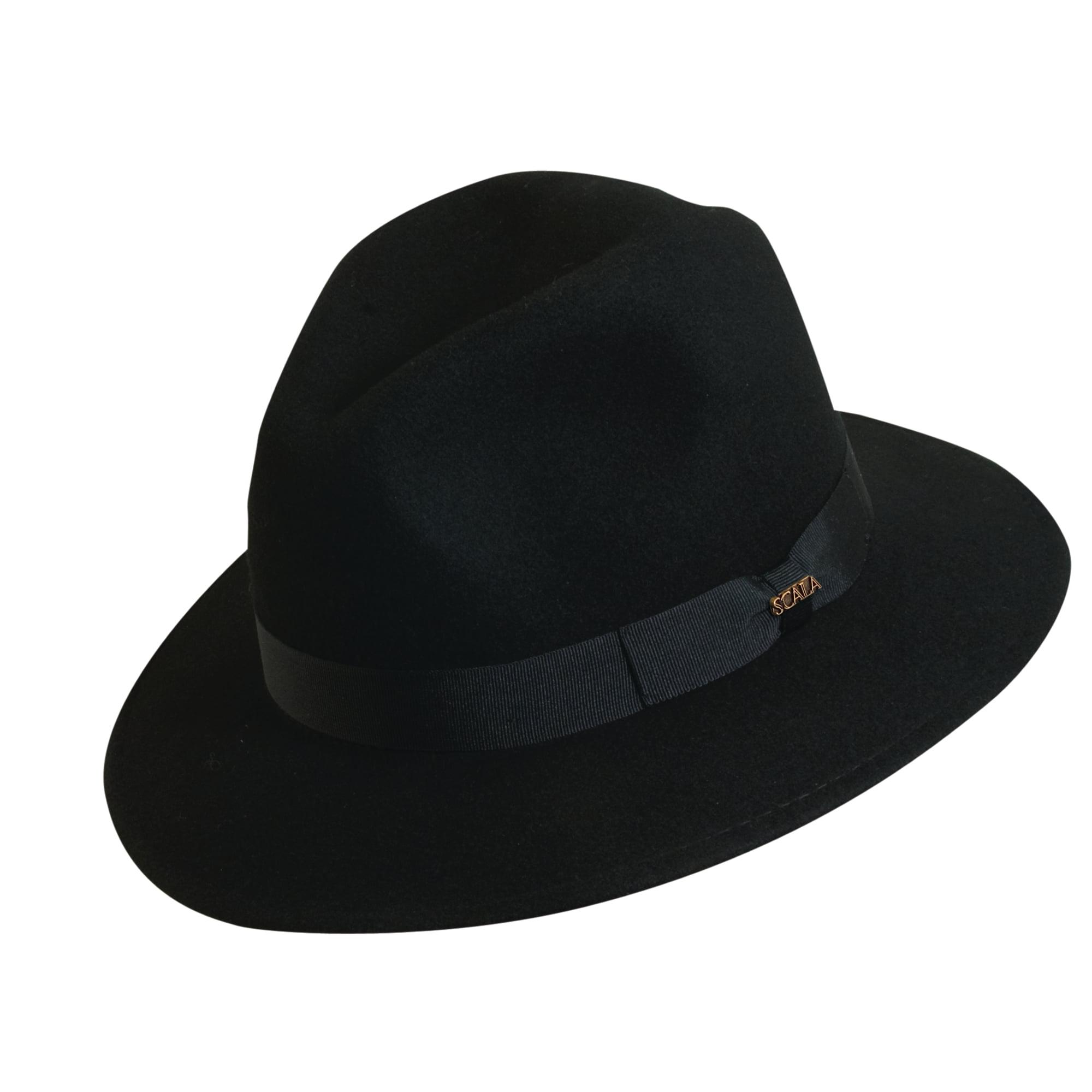 3aed0328b1d Scala Classico Men s 100% Wool Crushable Safari Hat