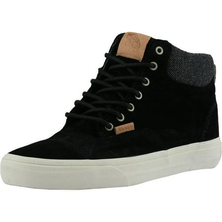 Vans - Vans Era Hi Ca Pig Suede Black   Mix Textiles Ankle-High Fashion  Sneaker - 9M 7.5M - Walmart.com 75f72d7de