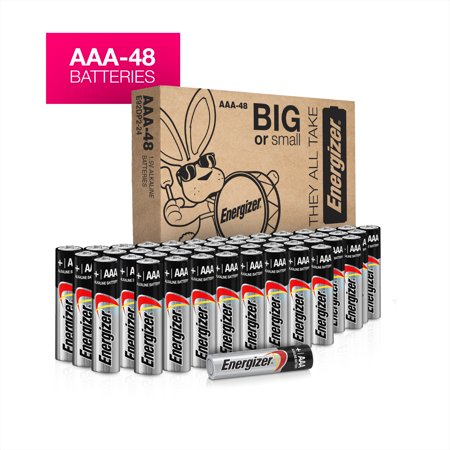 Energizer Max Powerseal Alkaline AAA Batteries, 48 Pack (Aaa Battery Case)