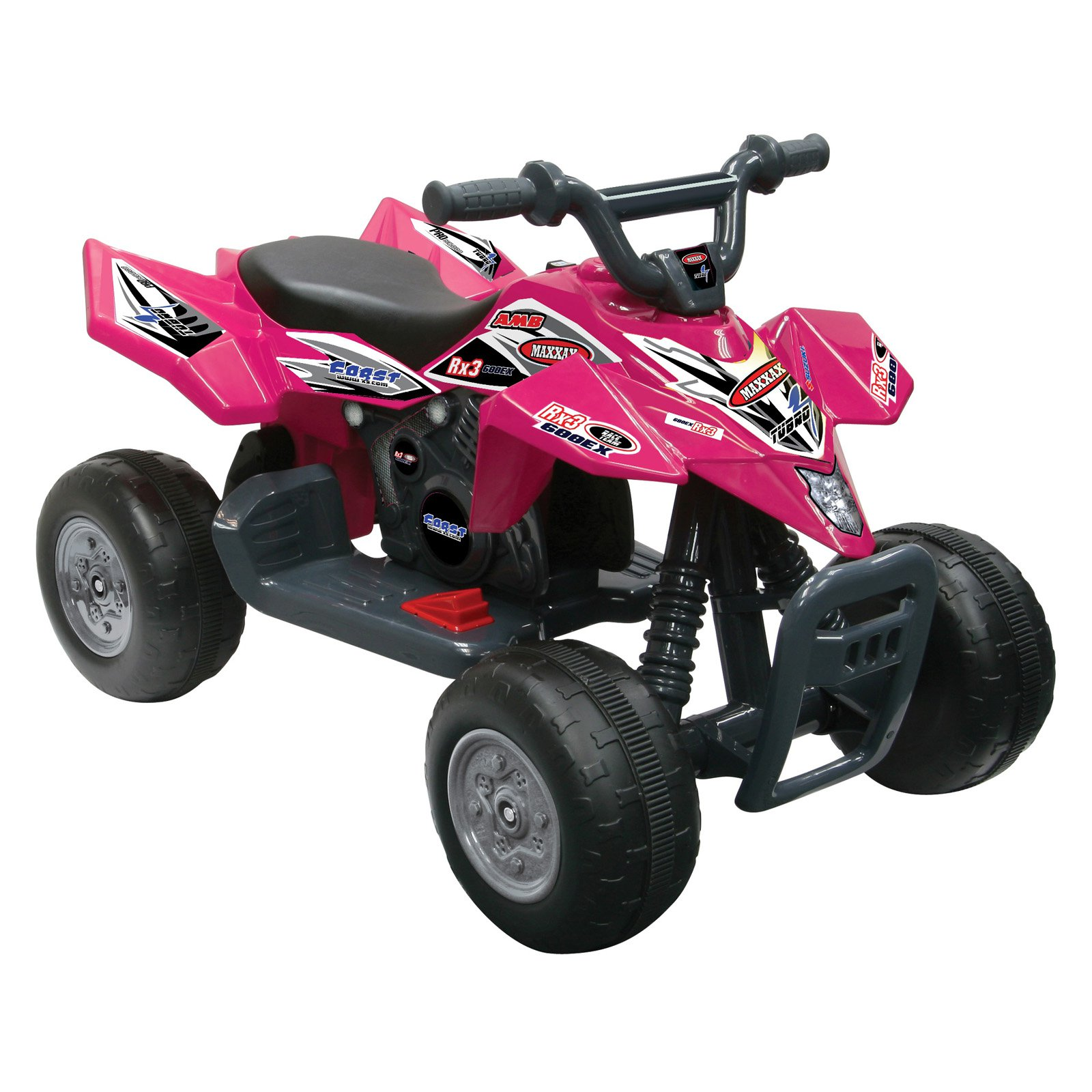 Kid Motorz Quad Racer ATV Battery Powered Riding Toy - Red