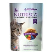 Nutrisca Catswell Natural Grain-Free with Chicken Dry Cat Food, 13 lb