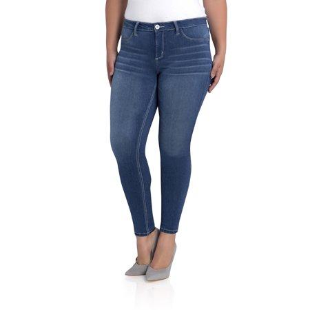 Jordache Plus Mid Rise Skinny Jean