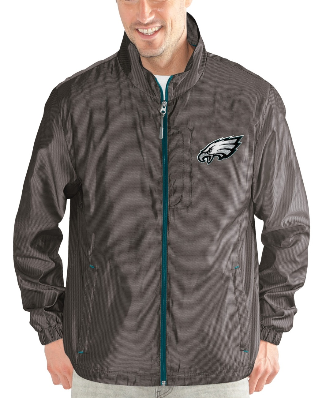 "Philadelphia Eagles NFL G-III ""Executive"" Full Zip Premium Men's Jacket by G-III Sports"