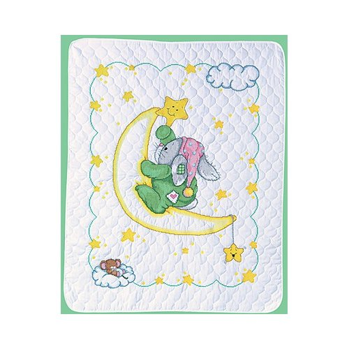 Janlynn Crescent Moon Quilt Counted Cross Stitch