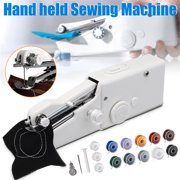 Mini Portable Handheld Sewing Machine Held Single Stitch Fabric  Sewing MachineNeedle House Hold Tool Home Travel